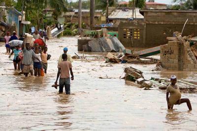 La lluvia agrava la tragedia de los haitianos
