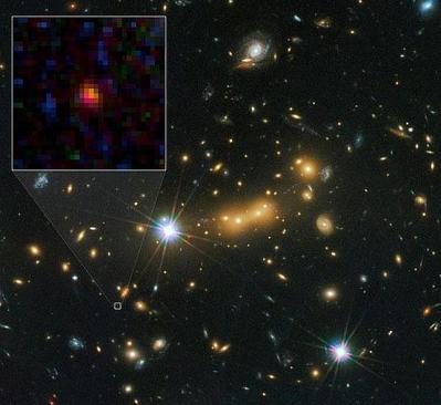 La galaxia más lejana del Universo