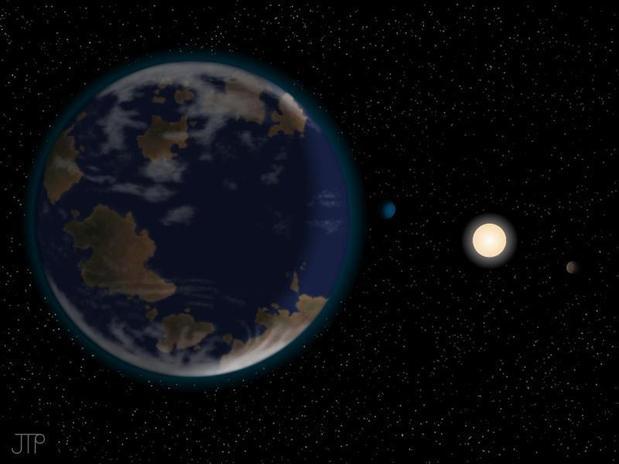 Descubren un planeta que puede ser habitable